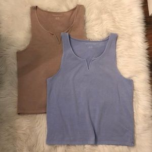 Bundle Notch Neck Tanks